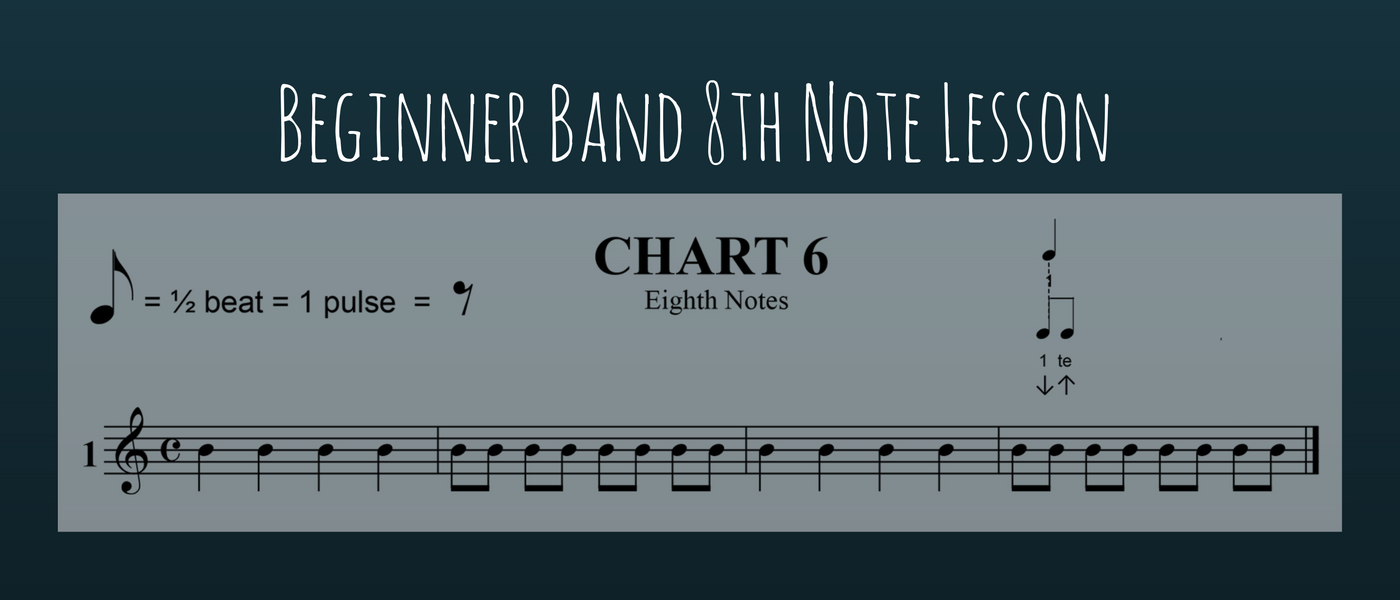 Beginner Band 8th Note Lesson