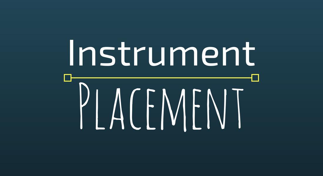 Instrument placement